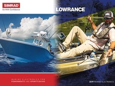Novos catálogos Lowrance e Simrad 2019