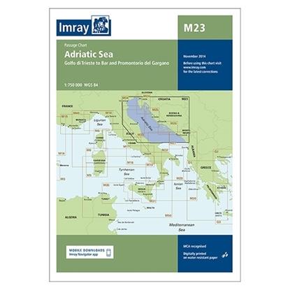 Picture of M23 Adriatic Sea Passage Chart