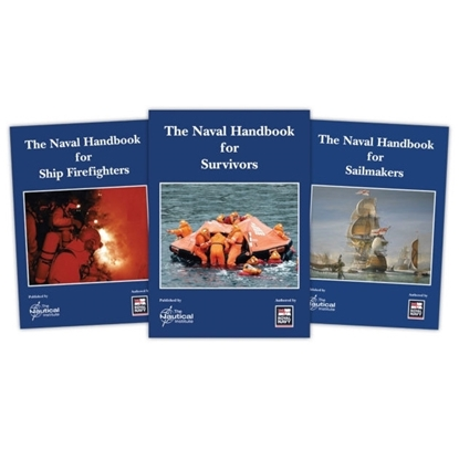 Picture of Naval Handbooks set (Survivors/Sailmakers/Ship Firefighters)