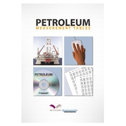 Picture of Petroleum Measurement Tables