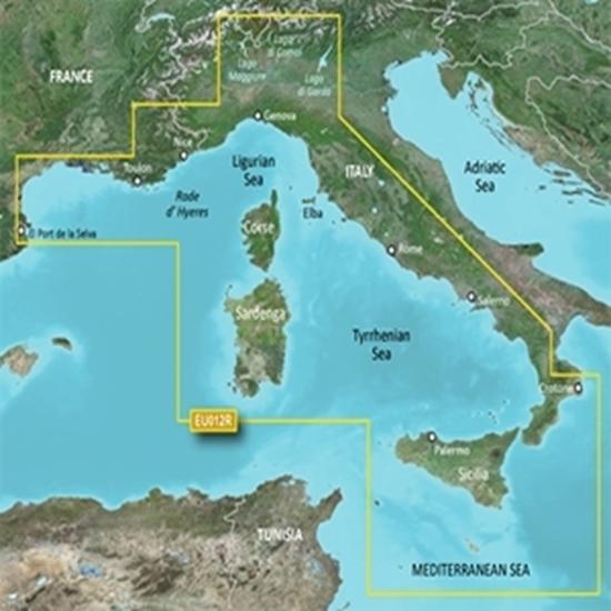 Mediterrâneo Central - Ocidental (HXEU012R)