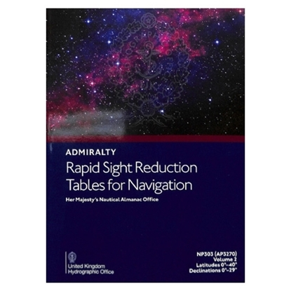 Picture of Rapid Sight Reduction Tables for Navigation Vol2 - AP3270(2)