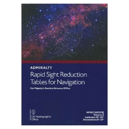 Picture of Rapid Sight Reduction Tables for Navigation Vol3 - AP3270(3)