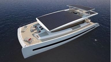 Eight new Silent-Yachts solar electric catamarans under construction