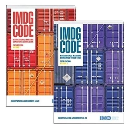 Picture of IMDG Code, 2020 Edition (inc. Amdt 40-20) 2 volumes